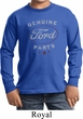 New Genuine Ford Parts Kids Long Sleeve Shirt