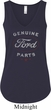 New Genuine Ford Parts Ladies Flowy V-neck Tanktop