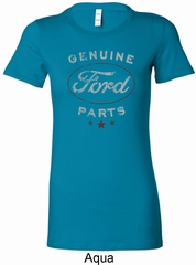 New Genuine Ford Parts Ladies Longer Length Shirt