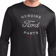 New Genuine Ford Parts Mens Dry Wicking Long Sleeve Shirt