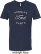 New Genuine Ford Parts Mens V-Neck Shirt