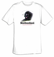 Newfoundland T-shirt - I'm a Proud Owner of a Newfoundland Dog Tee