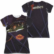 Night Ranger 7 Wishes Sublimation Juniors Shirt Front/Back Print