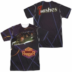Night Ranger 7 Wishes Sublimation Shirt Front/Back Print