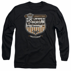 Night Ranger Long Sleeve Shirt Motorin Black Tee T-Shirt