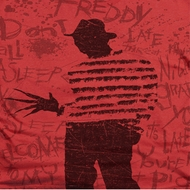 Nightmare On Elm Street Freddy Silhouette Shirts