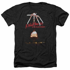 Nightmare On Elm Street Shirt Alternate Poster Heather Black T-Shirt
