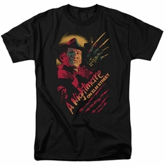 Nightmare On Elm Street Shirt Freddy Claws Black T-Shirt