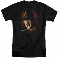 Nightmare On Elm Street Shirt Freddy Krueger Tall Black T-Shirt