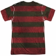 Nightmare On Elm Street Shirt Freddy Sweater Sublimation Shirt Front/Back Print