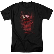 Nightmare On Elm Street Shirt One Two Freddys Coming For You Black T-Shirt