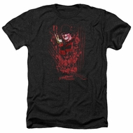 Nightmare On Elm Street Shirt One Two Freddys Coming For You Heather Black T-Shirt
