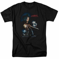 Nightmare On Elm Street Shirt Poster Black T-Shirt