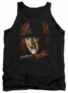 Nightmare On Elm Street Tank Top Freddy Krueger Black Tanktop