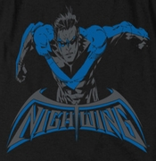 Nightwing DC Comics Wing Of The Night Shirts