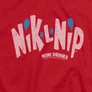 Nik L Nips Distressed Logo Shirts