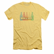 Nik L Nips Shirt Slim Fit Logo Banana T-Shirt