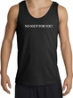 No Soup For You T-shirt - Adult Tanktop Tank Top Black