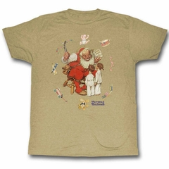 Norman Rockwell Shirt Toy Circle Sand T-Shirt