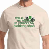 Official Drinking Shirt Mens St Patricks Day Shirts