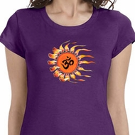Ohm Sun Ladies Yoga Shirts