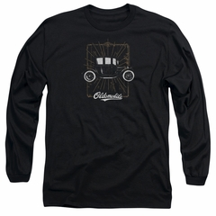 Oldsmobile Long Sleeve Shirt 1912 Defender Black Tee T-Shirt
