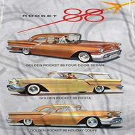 Oldsmobile Rocket Line Cars Sublimation Shirts