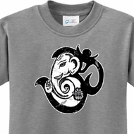Om Mashup Kids Yoga Shirts