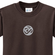 Om Symbol Kids Yoga T-shirts