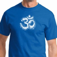 OM Tie Dye Mens Yoga Shirts
