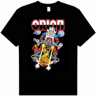 Orion T-shirt - Orion DC Comics New Gods Adult Black Tee