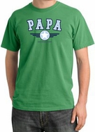 PaPa Pigment Dyed T-shirt - Grandpa Grandfather Dad Father Adult Tee