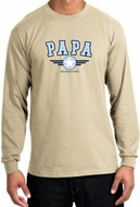 PaPa Shirt Grandpa Grandfather Dad Father Long Sleeve Tee