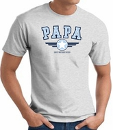 PaPa T-shirt - Grandpa Grandfather Pop Pop Dad Daddy Father Adult Tee