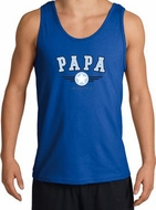 PaPa Tanktop - Grandpa Grandfather Dad Father Adult Tank Top Shirt