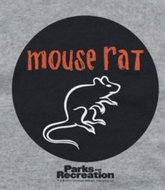 Parks And Recreation Mouse Rat Shirts