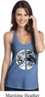 Peace Earth Ladies T-Back Tank Top