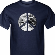 Peace Earth Mens Shirts