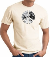 Peace Shirt Peace Earth Satellite Image Tee Natural