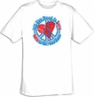 Peace Sign T-shirt - All You Need Is Love Adult Tee Shirt