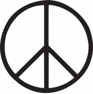 Peace Sign T-shirts - Basic Symbol