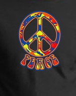 Peace Sign T-shirts - Funky Symbol