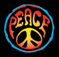 Peace Sign T-shirts - Psychedelic Symbol