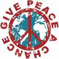 Peace T-shirts - Give Peace a Chance Symbol