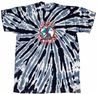 Peace Tie Dye Shirt Come Together Black Twist Tie Dye Tee