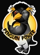 Penguin Power Hoodie Athletic Gym Workout Hoody Gold