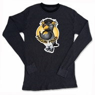 Penguin Power Shirt Athletic Gym Workout Thermal Shirt