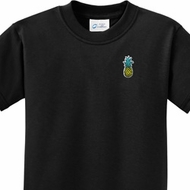Pineapple Patch Pocket Print Kids Shirts