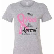 Pink For Someone Special Ladies Shirts