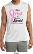 Pink For Someone Special Mens Sleeveless Moisture Wicking Shirt